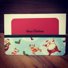 Christmas Collection - XCZ001 - Money Holder